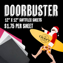 """SoftFlex Doorbuster - 12"""" x 12"""" Sheets"""