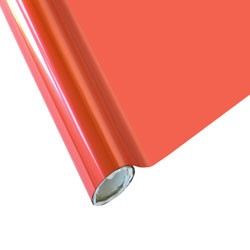 """25 Foot Roll of 12"""" StarCraft Electra Foil - Coral"""