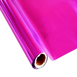 """25 Foot Roll of 12"""" StarCraft Electra Foil - UltraPink"""