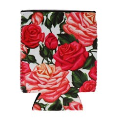 Can Cooler - Standard - Pink Roses
