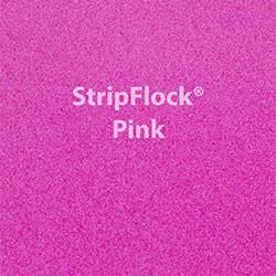 """Siser StripFlock - Pink - 15""""x12"""" Sheet"""