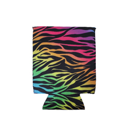 Can Cooler - Standard- Rainbow Tiger