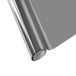 """25 Foot Roll of 12"""" StarCraft Electra Foil - Chrome"""