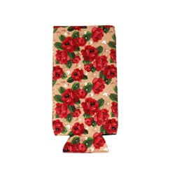 Can Cooler - Tall - Vintage Rose