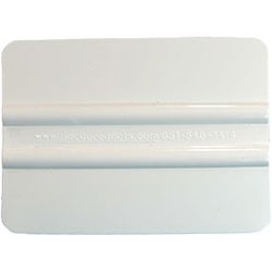 4 Inch Squeegee - White