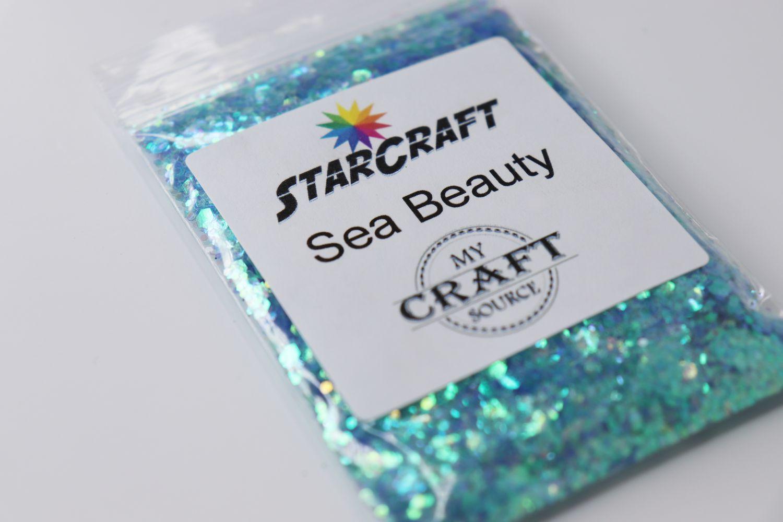 StarCraft Chunk Glitter - Sea Beauty - 0.5 oz