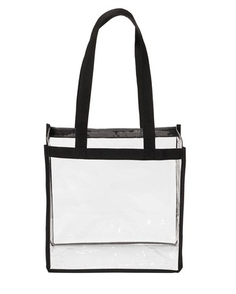 Port Authority ® Clear Stadium Tote - Clear
