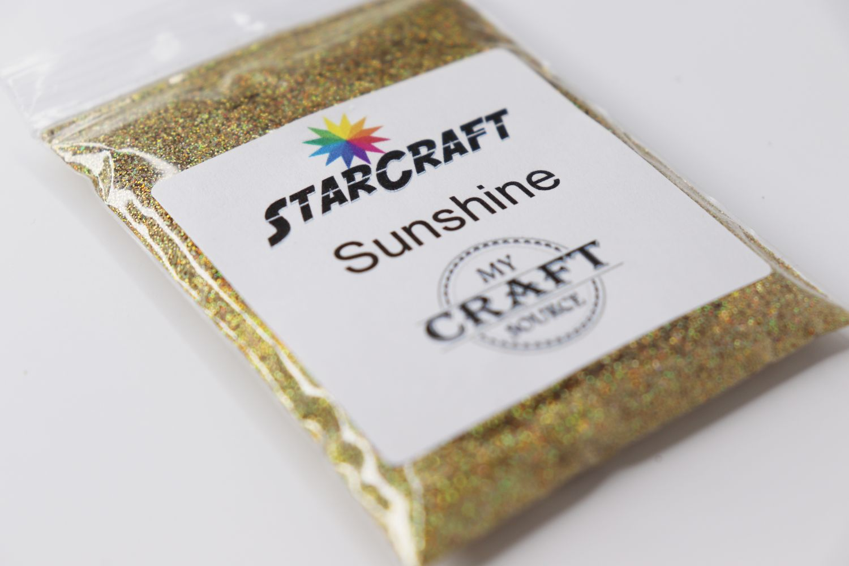 StarCraft Holographic Glitter - Sunshine - 0.5 oz