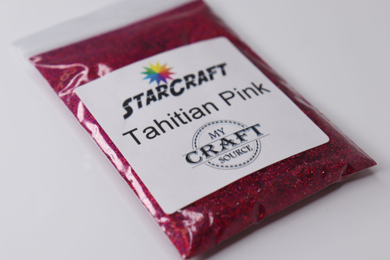 StarCraft Holographic Glitter - Tahitian Pink - 0.5 oz