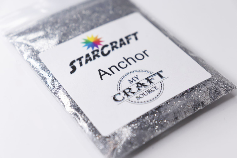 StarCraft Metallic Glitter - Anchor - 0.5 oz