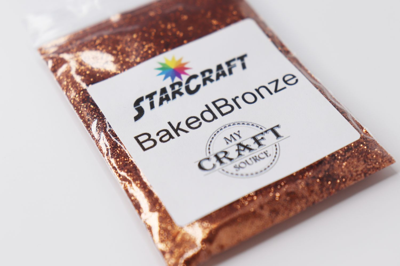 StarCraft Metallic Glitter - Baked Bronze - 0.5 oz