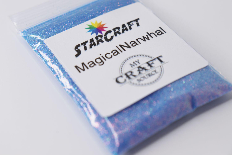 StarCraft Metallic Glitter - Magical Narwhal - 0.5 oz