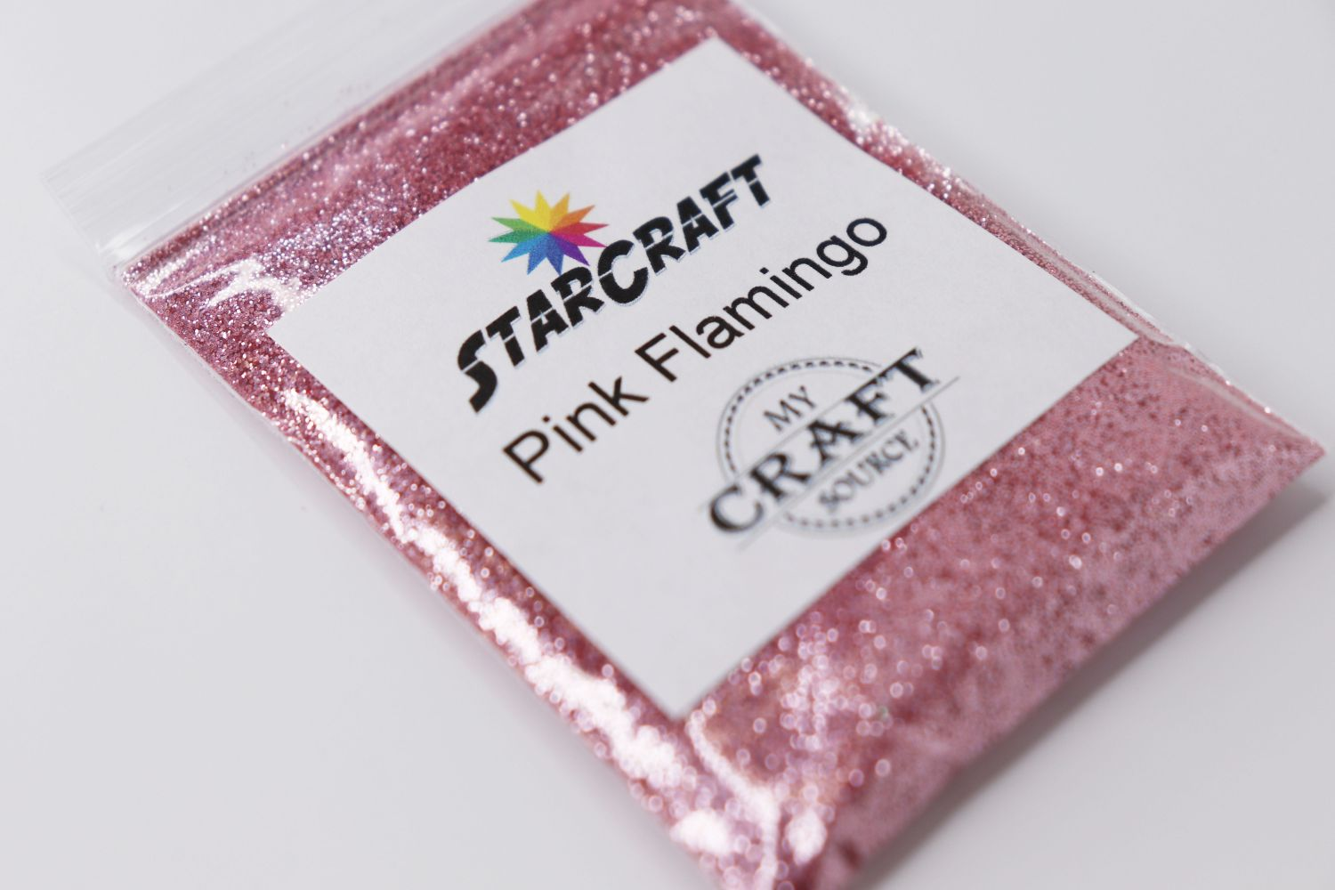 StarCraft Metallic Glitter - Pink Flamingo - 0.5 oz