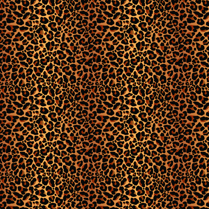 Printed HTV - #006 Leopard