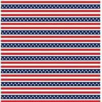 Printed HTV - #010 American Stars and Stripes