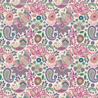 Adhesive  #018 Pink Paisley