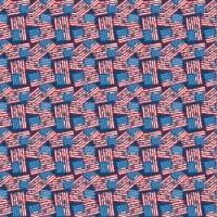Adhesive  #035 Patriotic Flags