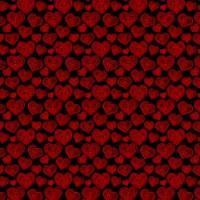 Adhesive  #036 Red & Black Hearts