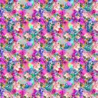 Printed HTV - #043 Floral Lilly