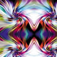 "Printed HTV - #055 Illusion 14"" x 5 feet Roll"