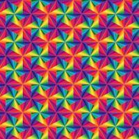 Adhesive  #056 Pinwheel Rainbows