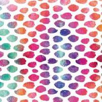"Printed HTV - #058 Rainbow Speckles  14"" x 5 feet Roll"