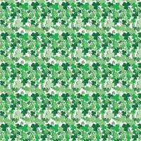 Printed HTV - #134 clover
