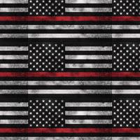 """Adhesive  #239 Red Line Flag 14"""" x 5 Foot Roll"""