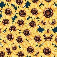 """Adhesive  #189 Watercolor Sunflower 14"""" x 5 Foot Roll"""