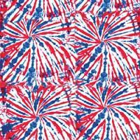 """Adhesive  #192 Patriotic Tie-Dye 14"""" x 5 Foot Roll"""