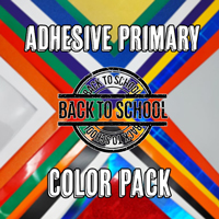 Adhesive Primary Color Pack