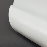 """Faux Leather 12"""" x 12"""" Sheets - White"""