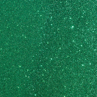 "American Crafts Duo Tone Glitter Cardstock - Emerald 12"" x 12"" Sheet"