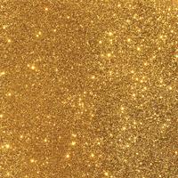 "American Crafts Duo Tone Glitter Cardstock - Gold 12"" x 12"" Sheet"
