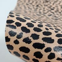 "Faux Leather 12"" x 12"" Sheets - 008 True Cheetah"