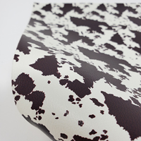 """Faux Leather 12"""" x 12"""" Sheets - 017 Brown Cowhide"""