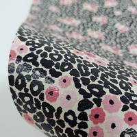 "Faux Leather 12"" x 12"" Sheets - 019 Poppy Leopard"