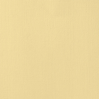 """American Crafts Weave Cardstock - Butter 12"""" x 12"""" Sheet"""