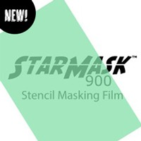 """StarCraft StarMask 900 Stencil Film - 12"""" x 12"""" Sheet"""