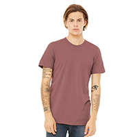 BELLA+CANVAS Unisex Jersey Short Sleeve Tee - Mauve