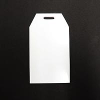 Acrylic Blank- Bag Tag