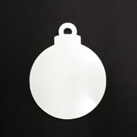 Acrylic Blank- Christmas Ornament