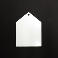 Acrylic Blank- Cow Tag
