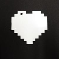 Acrylic Blank- Digital Heart