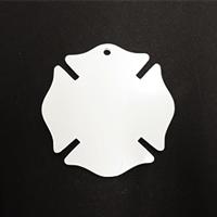 Acrylic Blank- Fireman Badge