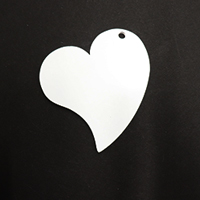 Acrylic Blank- Whimsical Heart