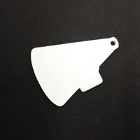 Acrylic Blank- Megaphone