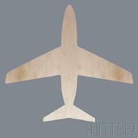 Wood Blank - Airplane