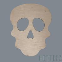 Wood Blank - Skull