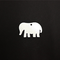 Acrylic Blank- Baby Elephant